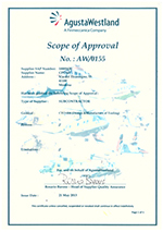 AgustaWestland - Scope of Approval